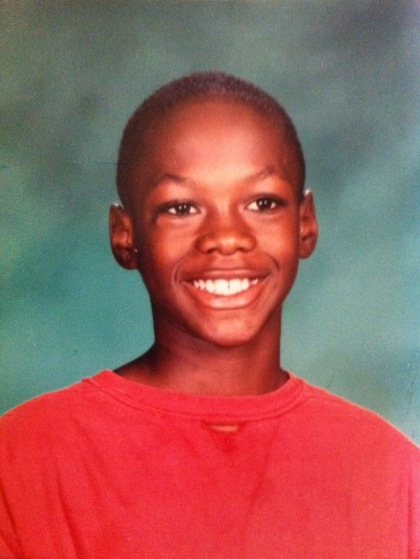 Deontay Wilder child class picture
