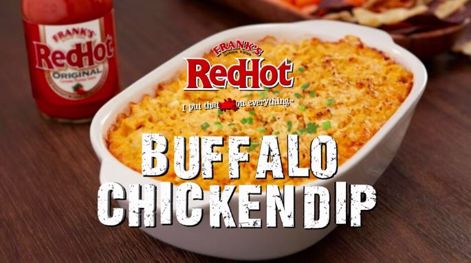 Frank S Redhot Recipes Buffalo Chicken Dip With Boomer