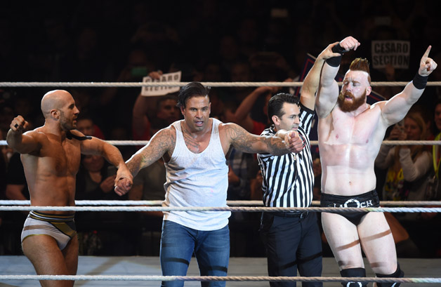 Former German goalkeeper Tim Wiese makes his full WWE debut in what he describes as the 'Champions League' of wrestling.