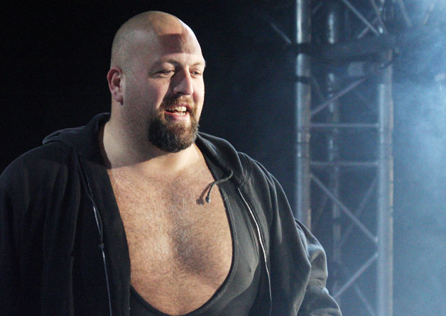 WWE Superstar Big Show is introduced during the WWE Smackdown Live Tour at Westridge Park Tennis Stadium on July 08, 2011 in Durban, South Africa.