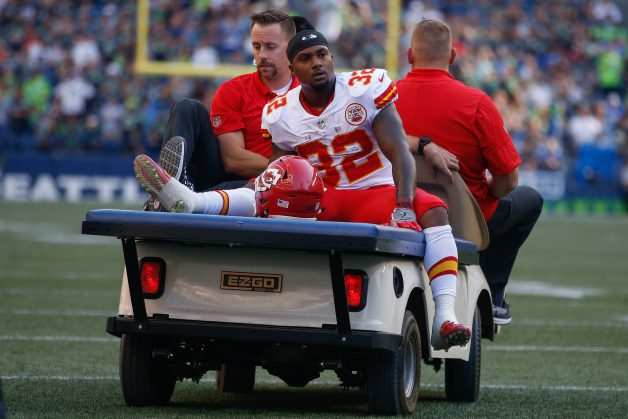 Spencer Ware Chiefs injury