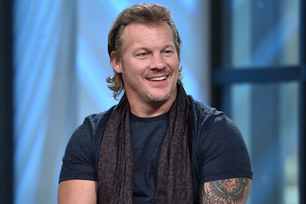 """Build Presents Chris Jericho Discussing His New Book """"No Is a Four-Letter Word"""" at Build Studio on August 28, 2017 in New York City."""