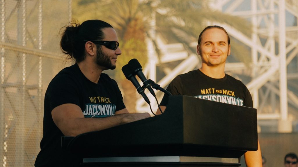 All Elite Wrestling Jacksonville Press Conference