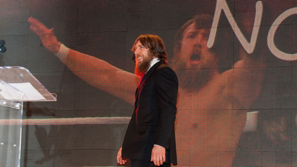 Daniel Bryan attends WWE SummerSlam Press Conference at Beverly Hills Hotel on August 13, 2013 in Beverly Hills, California.