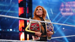 Becky Lynch WWE's RAW SmackDown Champion WrestleMania 35