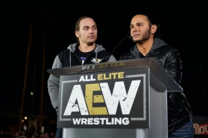 The Young Bucks All Elite Wrestling Launch Party